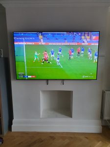 65 inch tv mounted