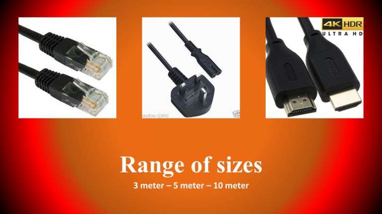 cable we provide